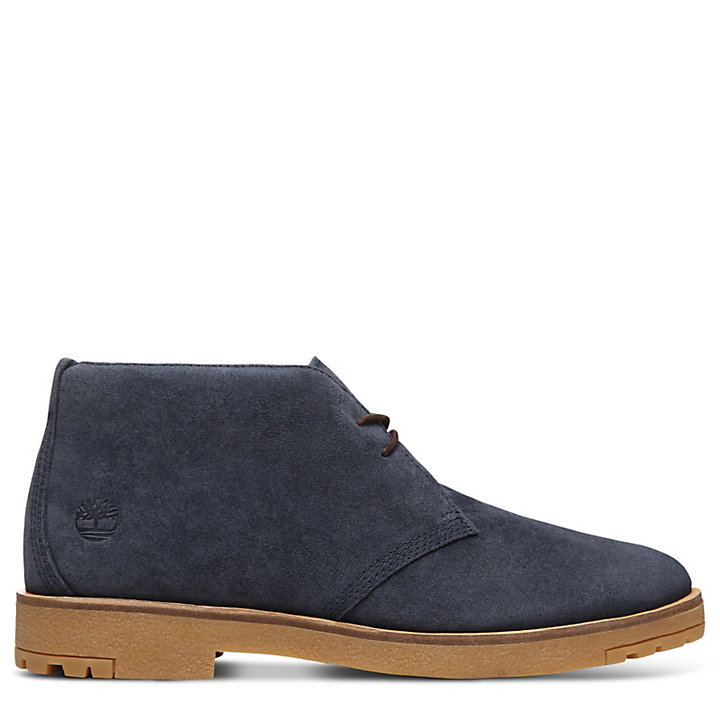Folk Gentleman Chukka for Men in Navy-