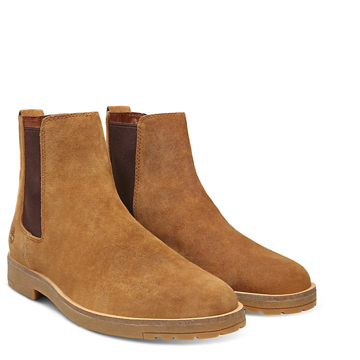 Folk Gentleman Chelsea Boot voor Heren in Lichtbruin-