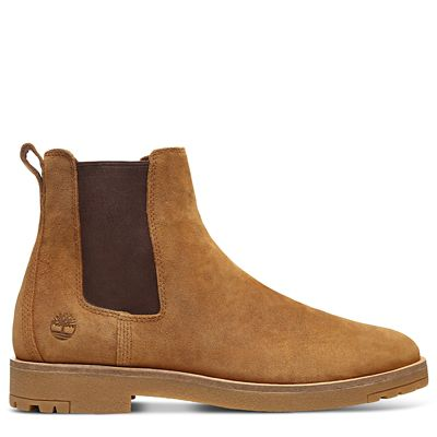 Folk+Gentleman+Chelsea+Boot+for+Men+in+Light+Brown