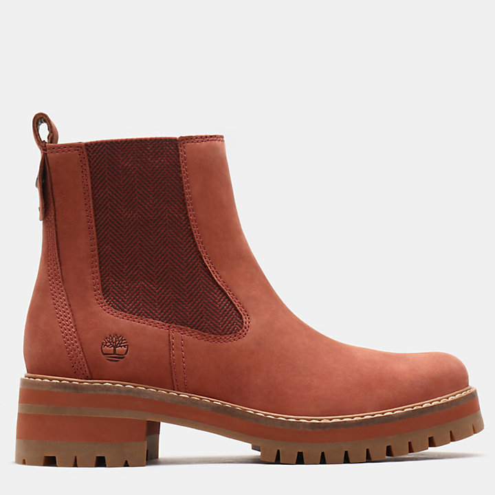 Courmayeur Valley Chelsea Boot for Women in Brown-