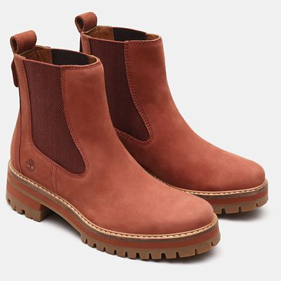 Courmayeur+Valley+Chelsea+Boot+for+Women+in+Brown