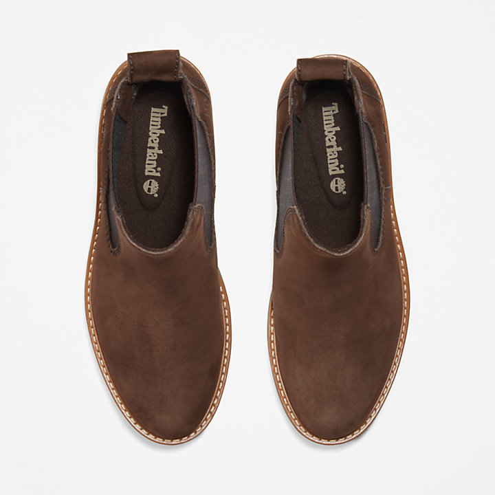 Courmayeur Valley Chelsea Boot for Women in Dark Brown-
