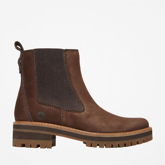 Courmayeur Valley Chelsea Boot for Women in Dark Brown | Timberland