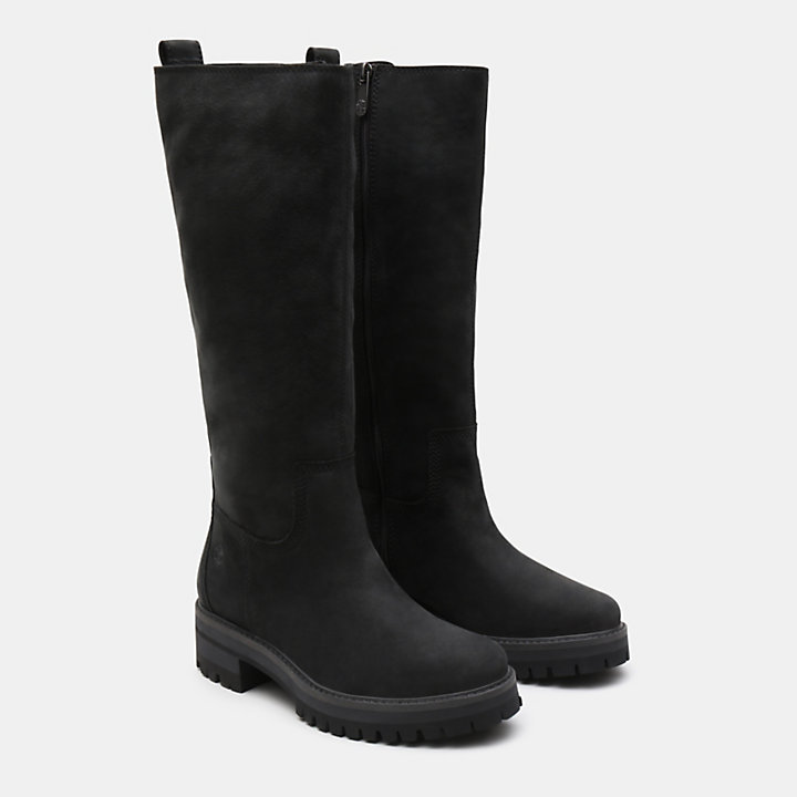 Courmayeur Valley High Boot for Women in Black-