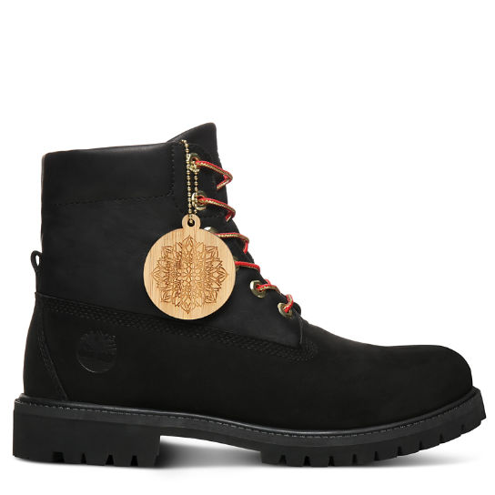Bottine Chinese New Year Roll Top pour homme en noir | Timberland
