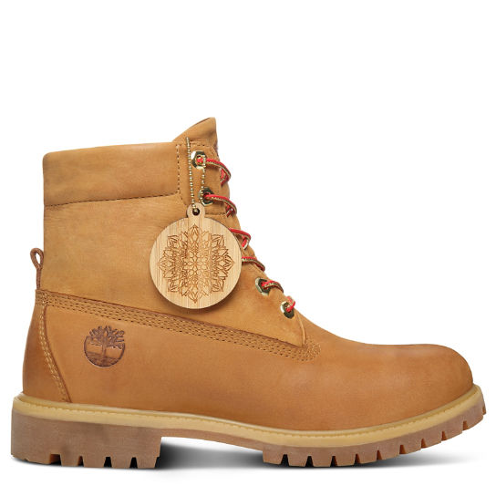 Chinese New Year Roll Top Stiefel Herren in Gelb | Timberland