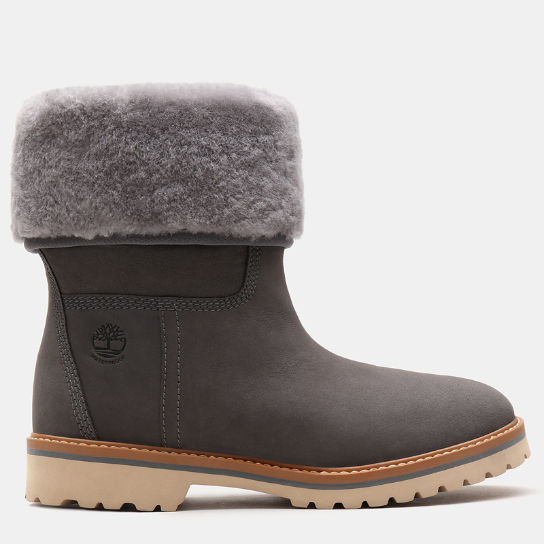 Chamonix Valley Shearling Boot for Women in Grey | Timberland