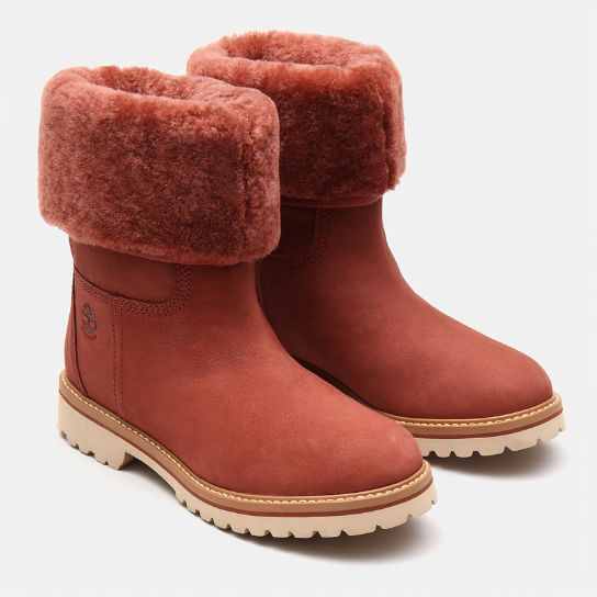 Chamonix Valley Shearling Boot for Women in Brown | Timberland