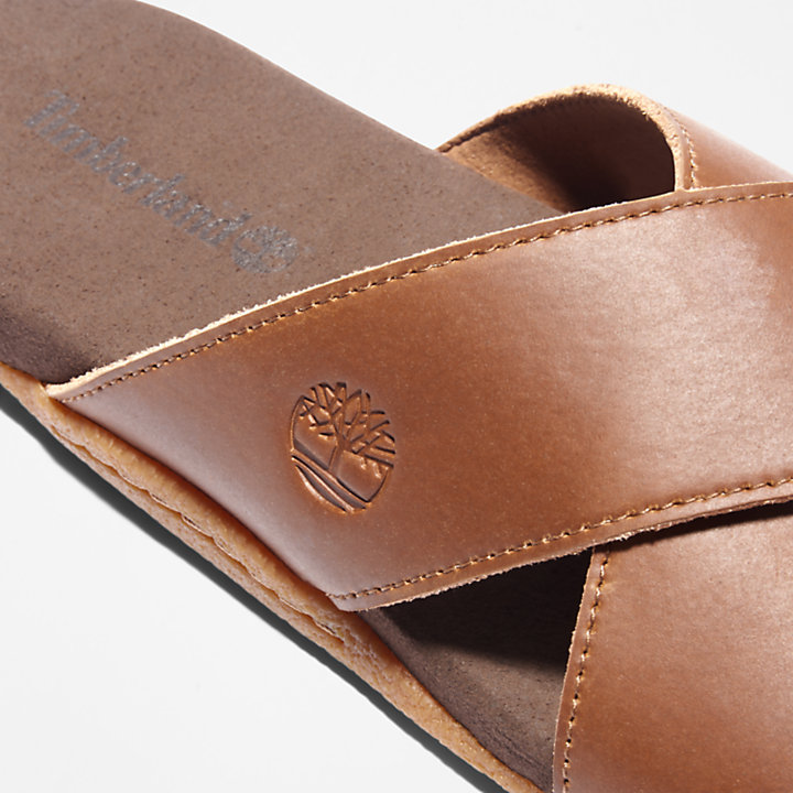 Seaton Bay Sandal for Men in Brown-