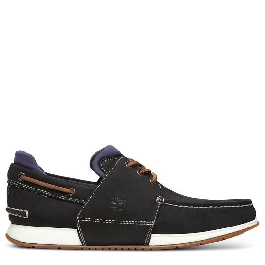 Heger's Bay Boat Shoe for Men in Navy | Timberland