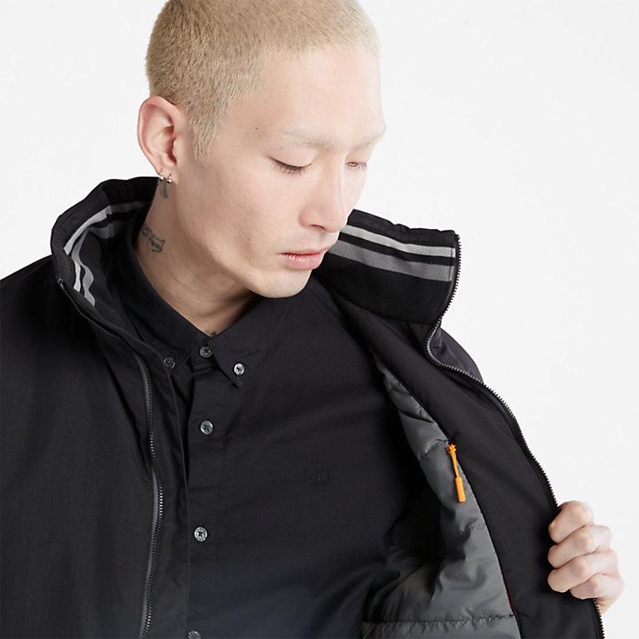 Veste bomber Sailor pour homme en noir-