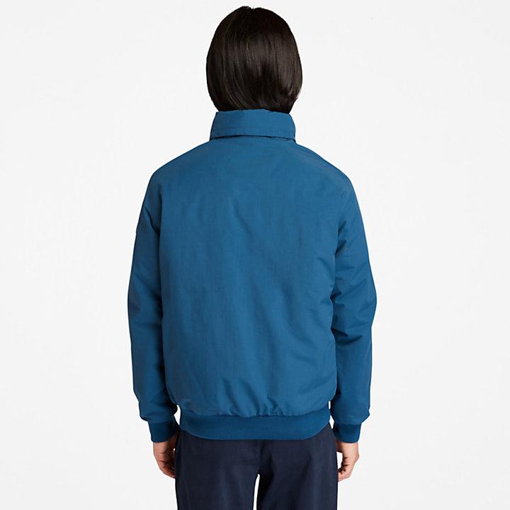 Sailor Bomber Jacket for Men in Blue-