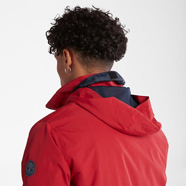 Veste bomber Sailor pour homme en rouge-