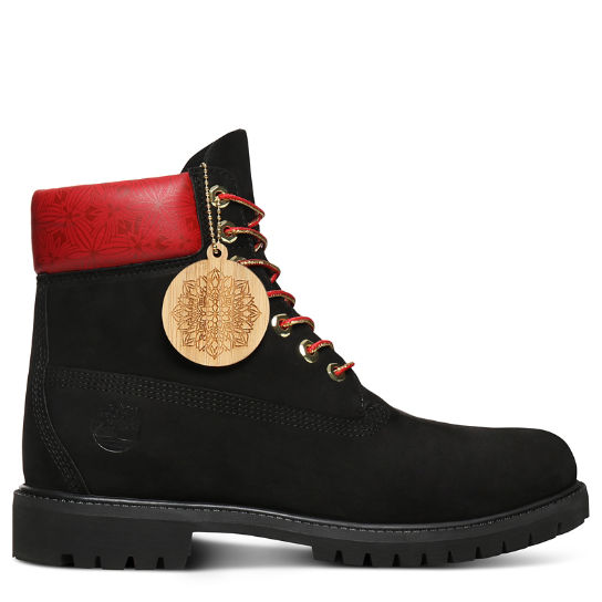 Chinese New Year 6 Inch Boot for Men in Black | Timberland