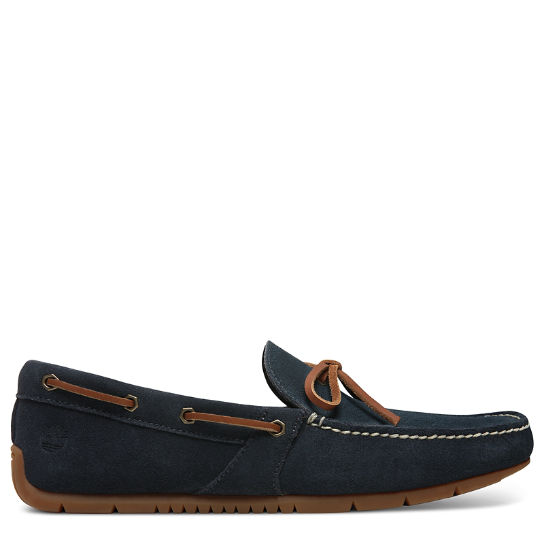 LeMans Gent Mocassin for Men in Navy | Timberland
