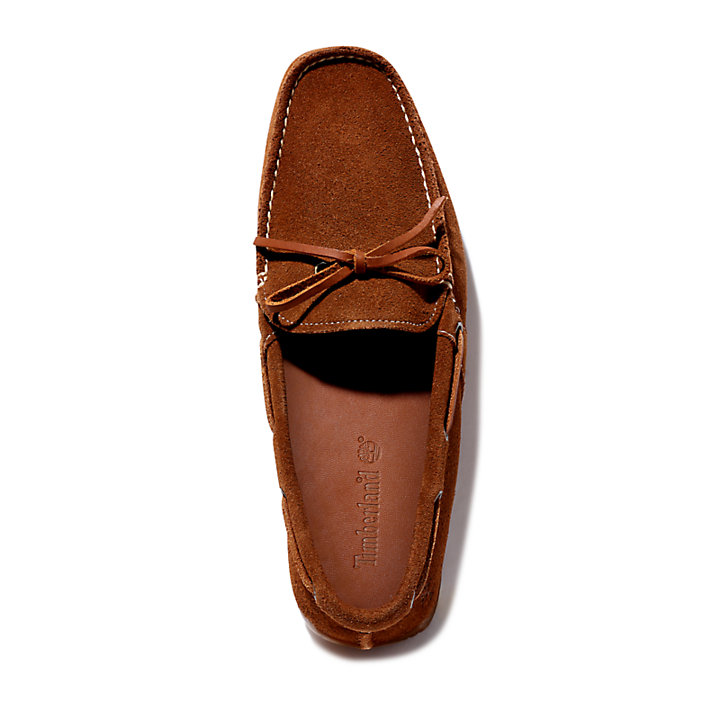 LeMans Gent Mocassin for Men in Brown Suede-