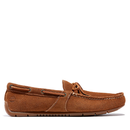 LeMans Gent Mocassin for Men in Brown Suede | Timberland