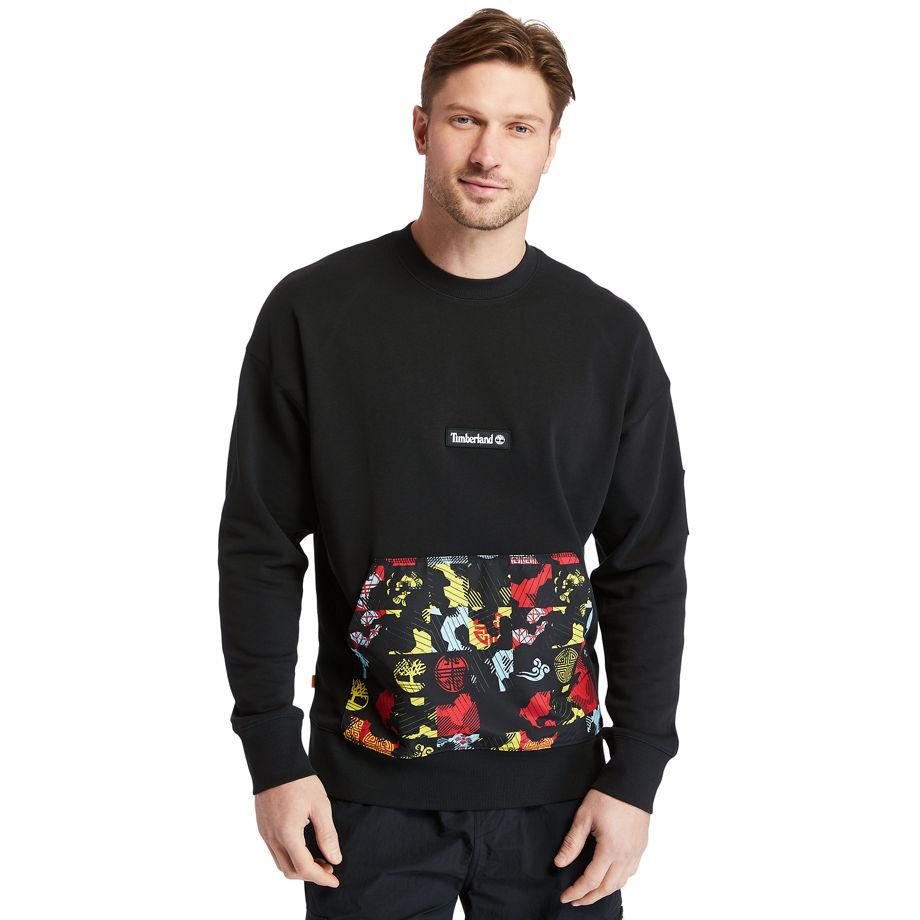 Sweat-shirt Imprimé En Matières Mélangées En , Taille L - Timberland - Modalova