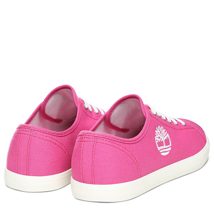 Oxford Newport Bay en toile junior en rose-