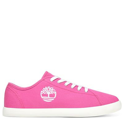 Oxford+Newport+Bay+en+toile+junior+en+rose