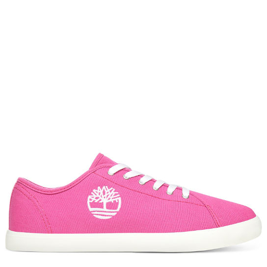 Oxford Newport Bay en toile junior en rose | Timberland