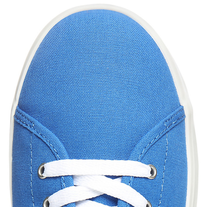 Oxford Newport Bay en toile junior en bleu-