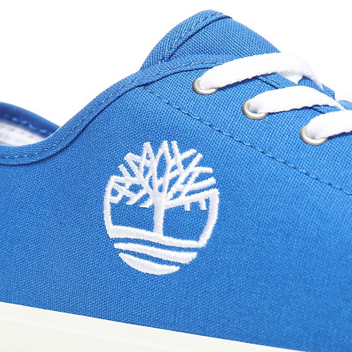 Newport Bay Canvas Oxford voor Juniors in Blauw-