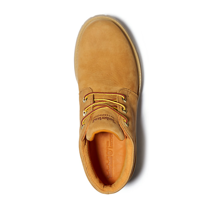 Nellie Logo Chukka for Women in Yellow-
