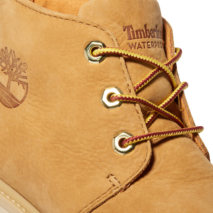 Nellie Logo Chukka Boot for Women in Yellow-