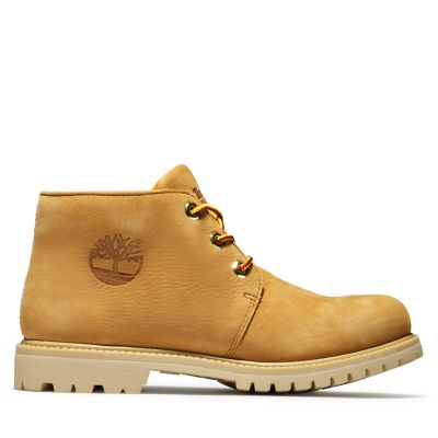 Nellie+Logo+Chukka+Boot+for+Women+in+Yellow