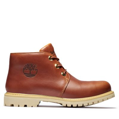 Nellie+Logo+Chukka+for+Women+in+Brown