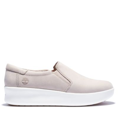 Scarpa+Slip-On+da+Donna+Berlin+Park+in+beige