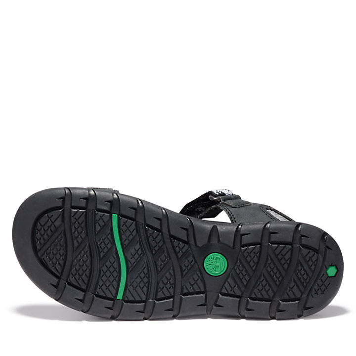 Governor's Island Sandal for Men in Black-