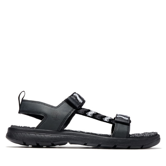 Governor's Island Sandal for Men in Black | Timberland