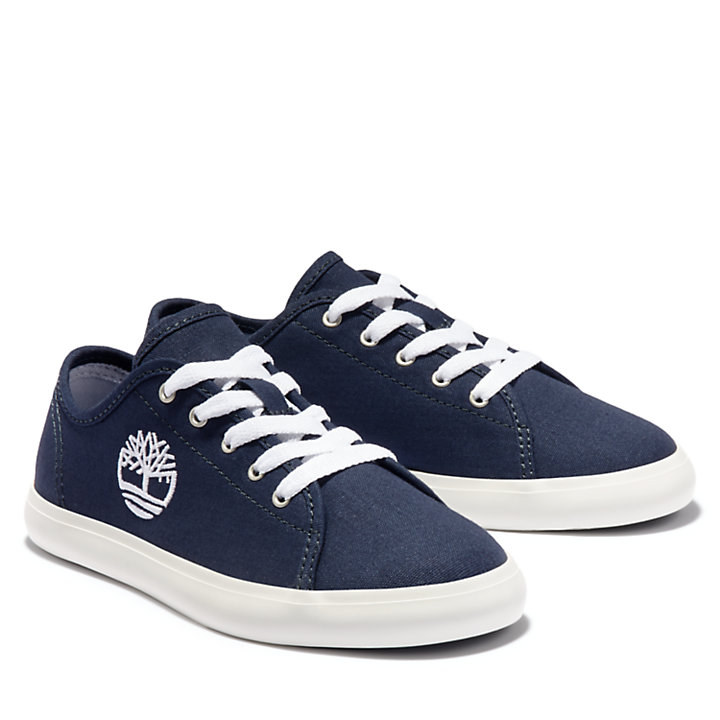 Newport Bay Canvas Oxford for Junior in Navy-