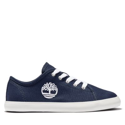 Newport+Bay+Canvas+Oxford+for+Junior+in+Navy