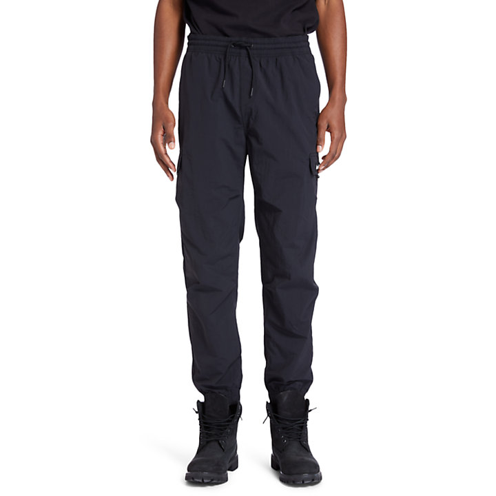 Chinese New Year Tracksuit Bottoms for Men in Black-