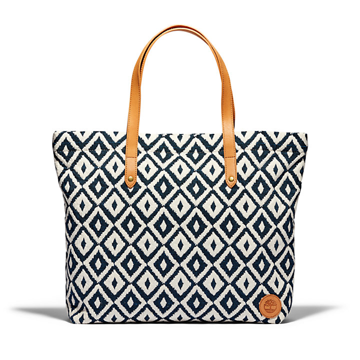 Borsa Tote da Donna North Twin in blu marino-