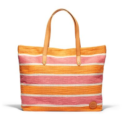North+Twin+Tote+Bag+for+Women+in+Orange