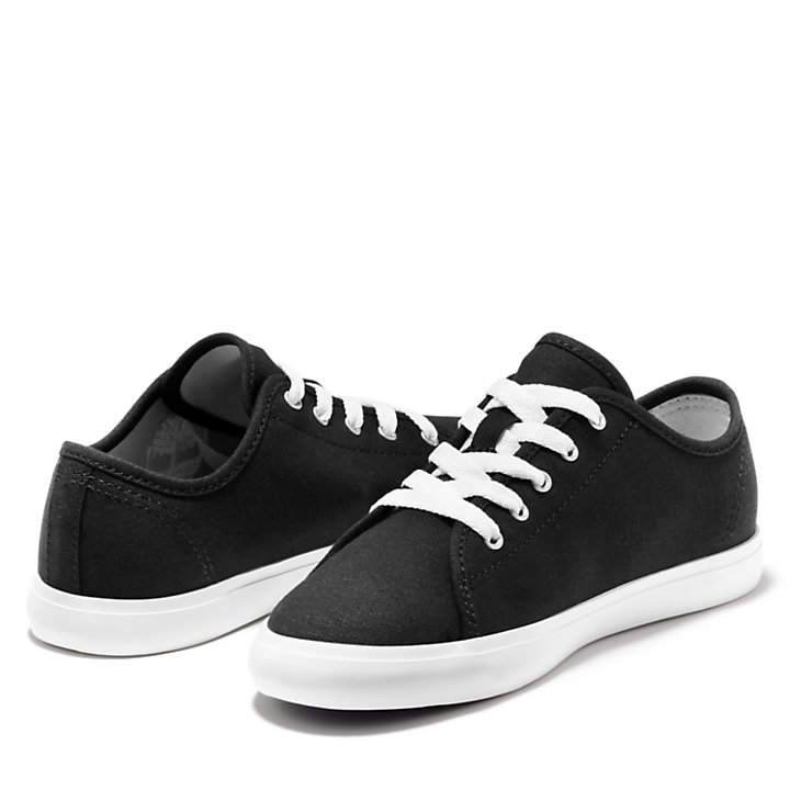 Oxford Newport Bay en toile junior en noir-