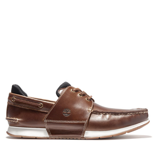 Heger's Bay Boat Shoe for Men in Brown | Timberland