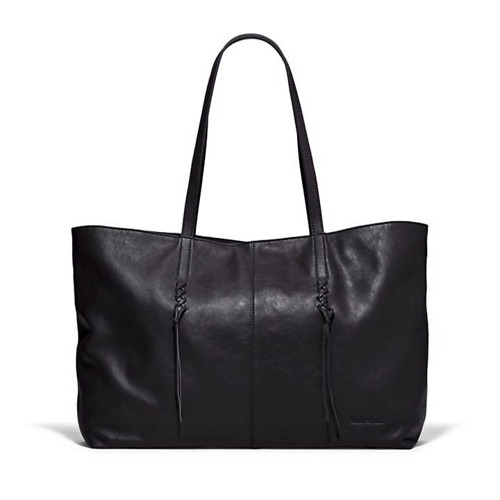 Plum Island Tote Bag in Black-