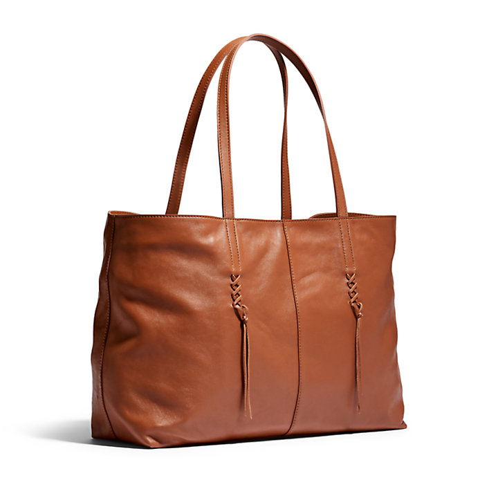 Plum Island Tote Bag in Brown-