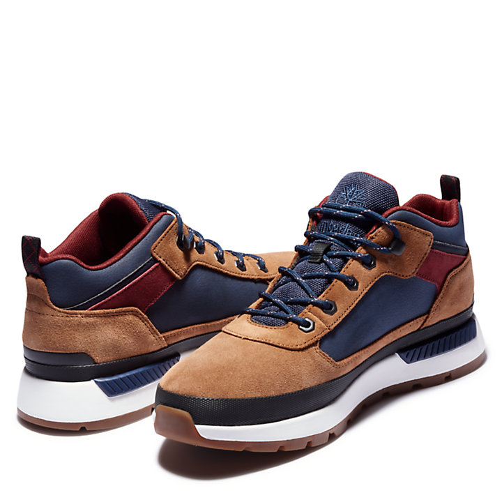 Scarponcino da Trekking da Uomo Field Trekker Low in marrone-