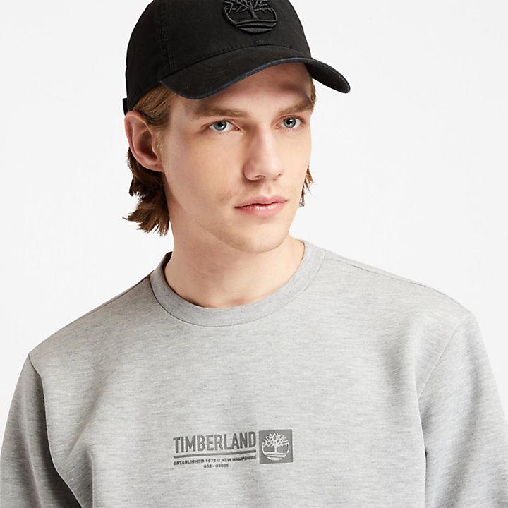 Sweat-shirt pour homme en gris-
