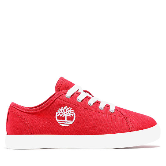 Newport Bay Canvas Oxford for Toddler in Red | Timberland