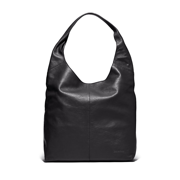 Plum Island Hobo Bag for Women in Black-