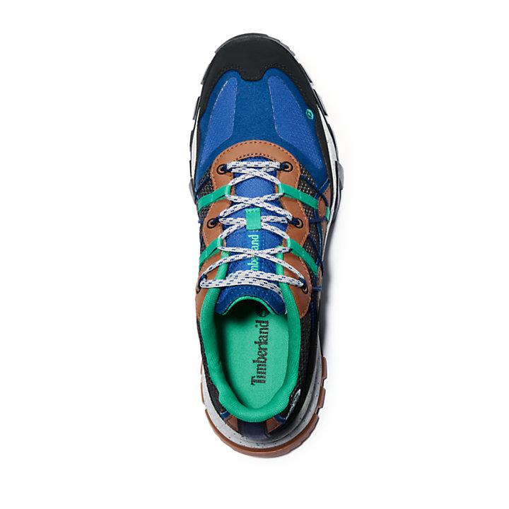 Zapatilla Garrison Trail Outdoor para Hombre en colore negro/azul-