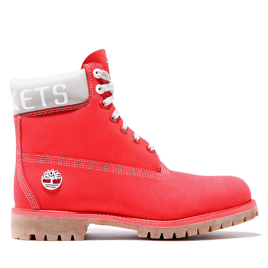 Premium 6 Inch Boot for Men in Red | Timberland