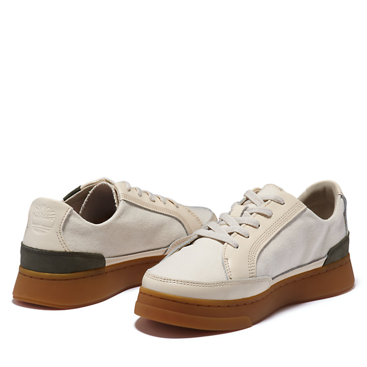 Atlanta Green EK+ Sneaker voor dames in beige-